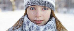 ochi uscati iarna