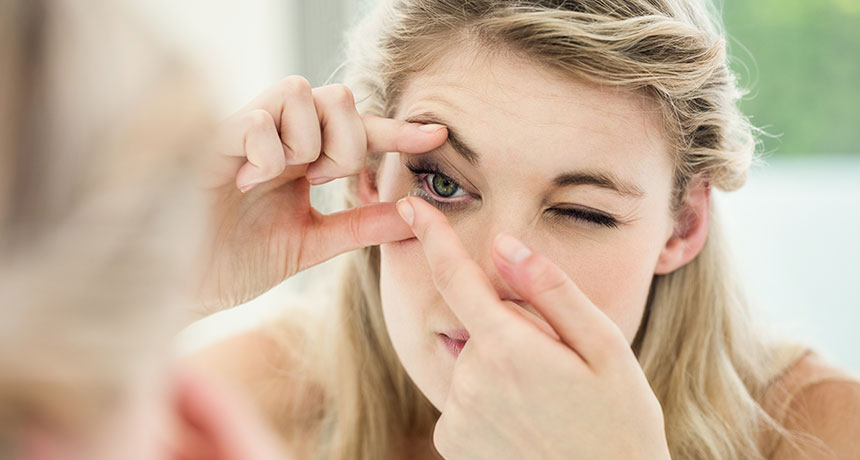lentile de contact tipuri